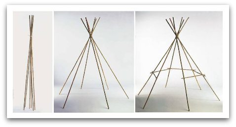 tipi-construction