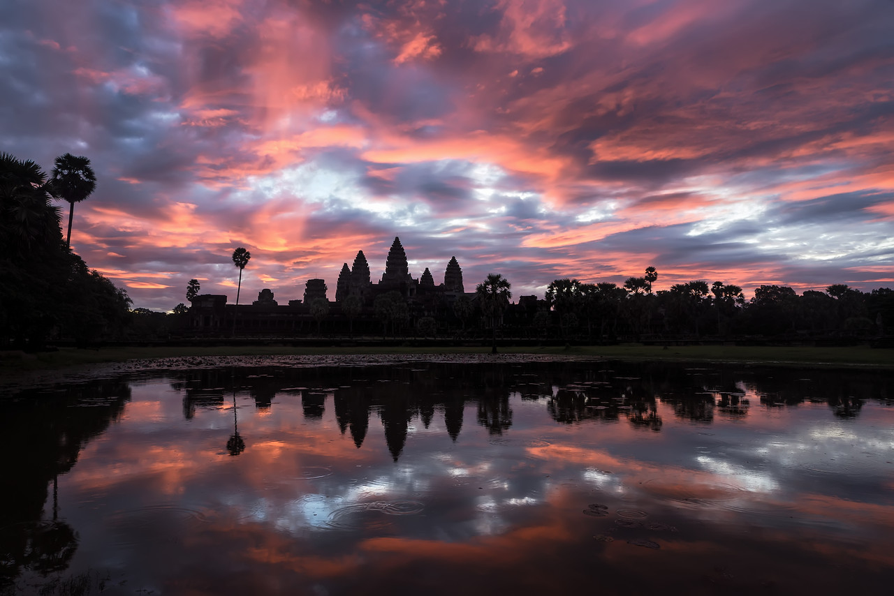 """Sunrise At Angkor Wat"""