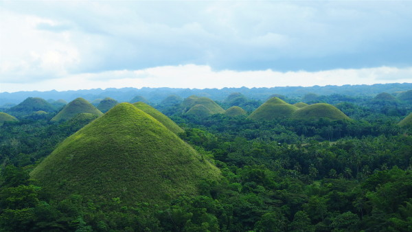 Bohol Chocolate Hills By Wander-Lust