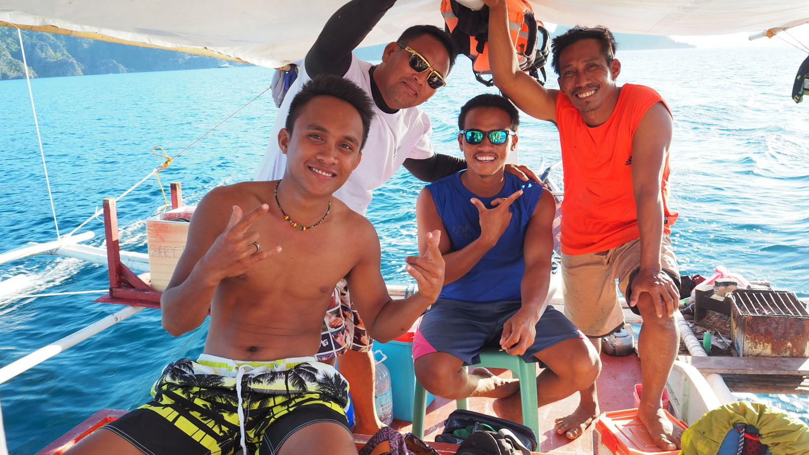 crew el nido to coron tour
