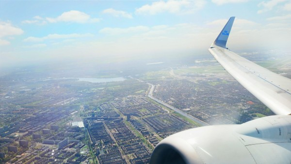 Flying to Prague with KLM