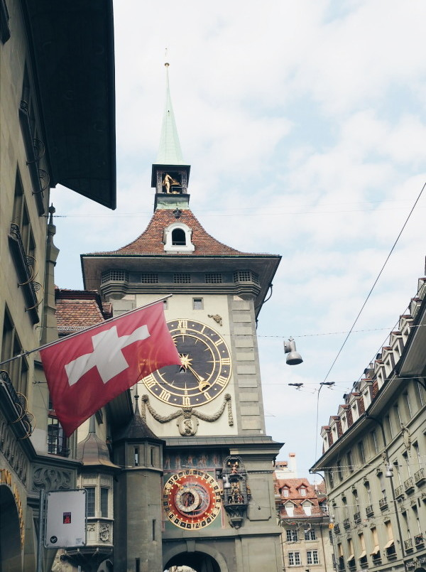 The clock of Bern