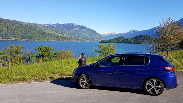 Driving around Switzerland in the Peugeot 308GT