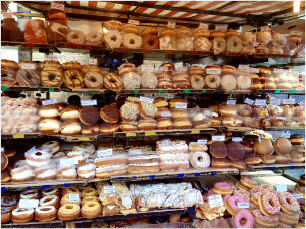 Cronuts and Donuts Camden town
