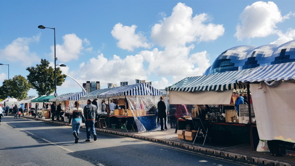 Sunday Market in Newcastle