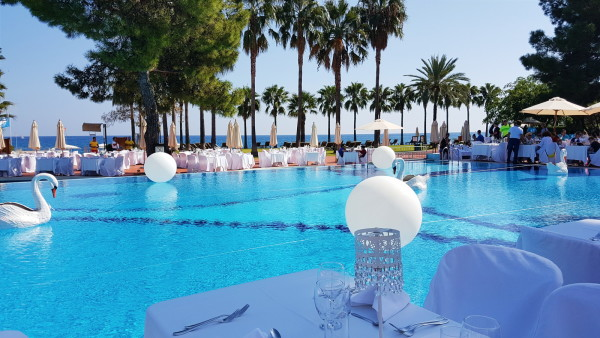 Lunch at Club Med Palmiye