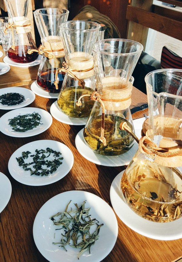 Tea Tasting at V-Bar Amsterdam
