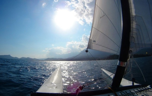 Sailing at Club Med Palmiye
