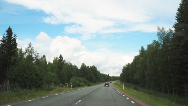 On our way to kukkolaforsen