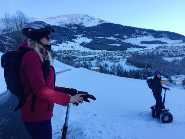 Segway tour in Fiss, Austria