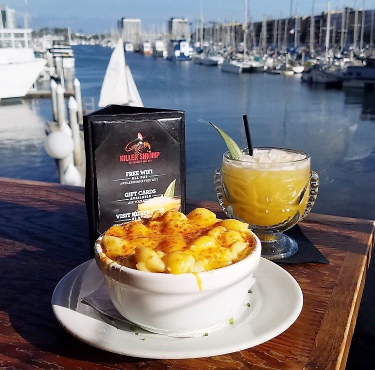 killer-shrimp-mac-and-drink Marina Del Rey