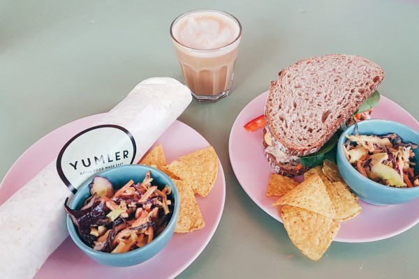Sandwiches and wraps at Yumler Amsterdam