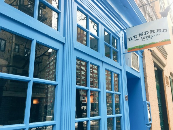 Hundred Acres, best breakfast spots in West Village
