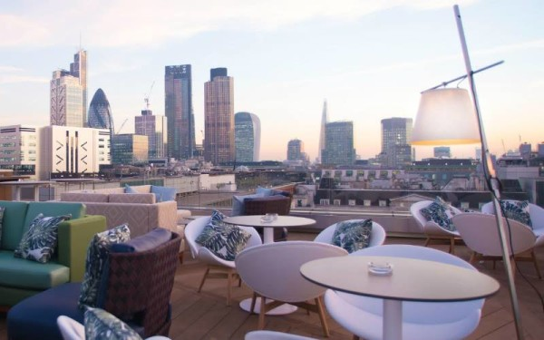 aviary, The Best Terraces and Rooftops in East London