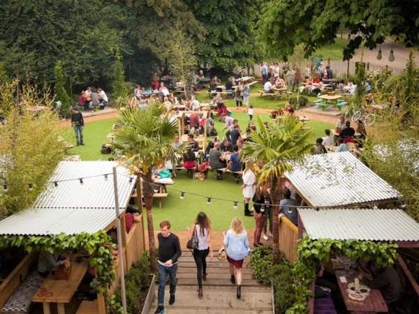 peoples-park-tavern, The Best Terraces and Rooftops in East London