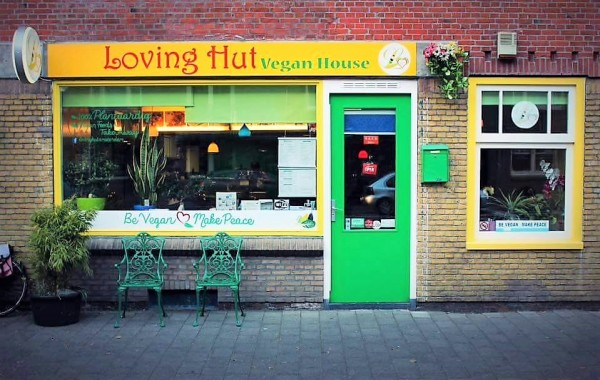 loving-hut, vegan spots in Amsterdam