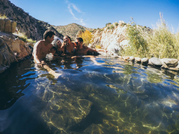 Deep Creek Hot Springs, pool